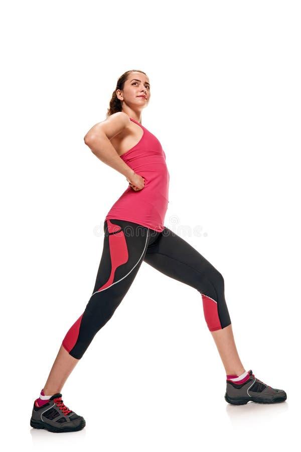 Demonstrować sporty ciało fotografia stock