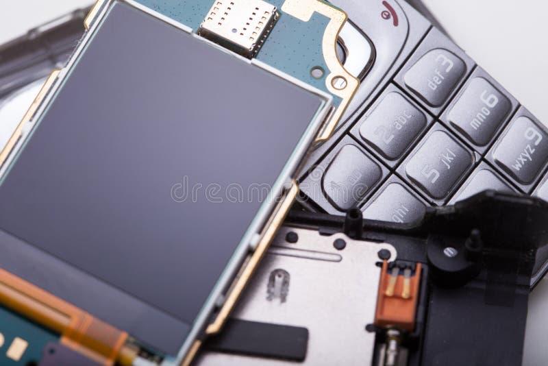 Demontujący telefon komórkowy zdjęcie royalty free
