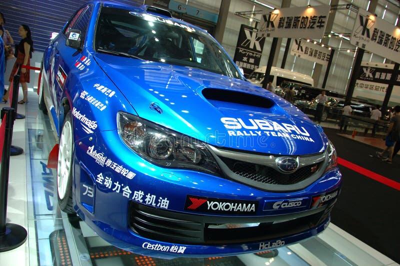 Demostración auto en China, Shenzhen fotografía de archivo