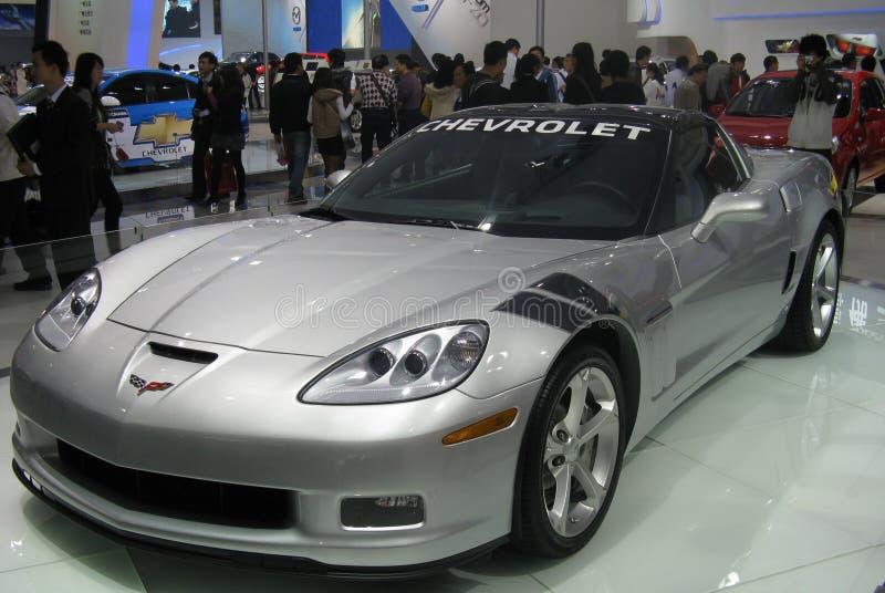 Demostración de coche de deportes de Chevrolet