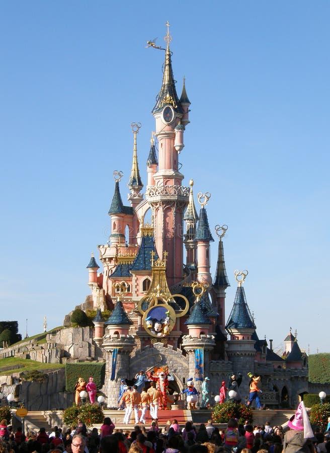 Demostración de Disneylandya París imagenes de archivo