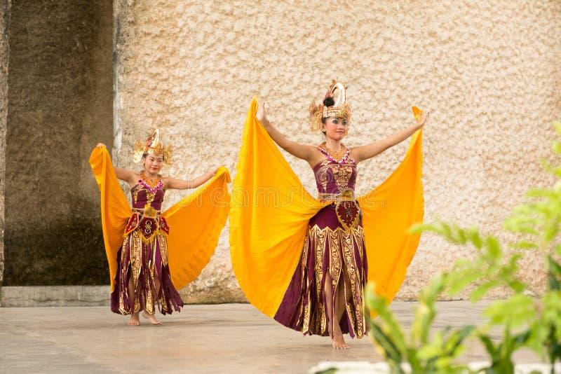 Demostración de la danza de Barong fotografía de archivo libre de regalías