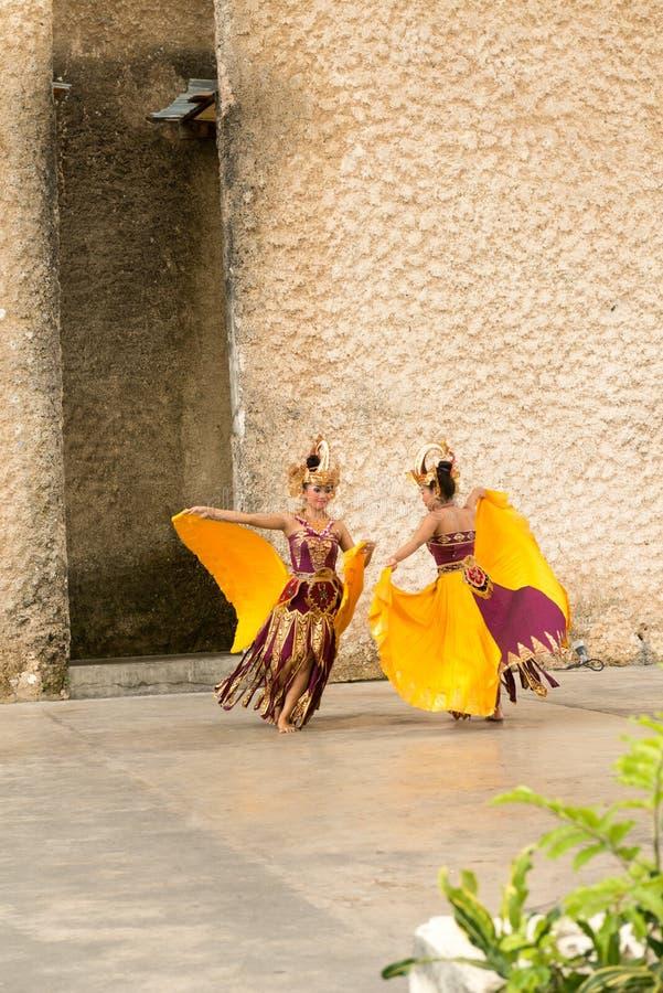 Demostración de la danza de Barong imágenes de archivo libres de regalías