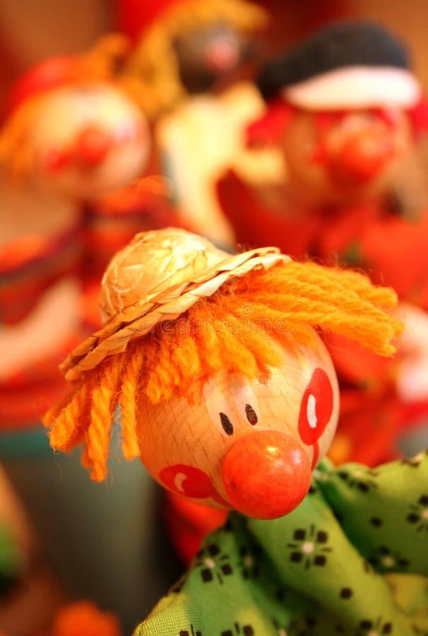 Demostración de marioneta foto de archivo