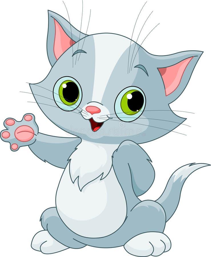 Demostración del gatito libre illustration