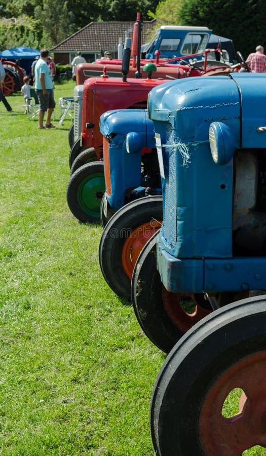Demostración Reino Unido del tractor fotos de archivo libres de regalías