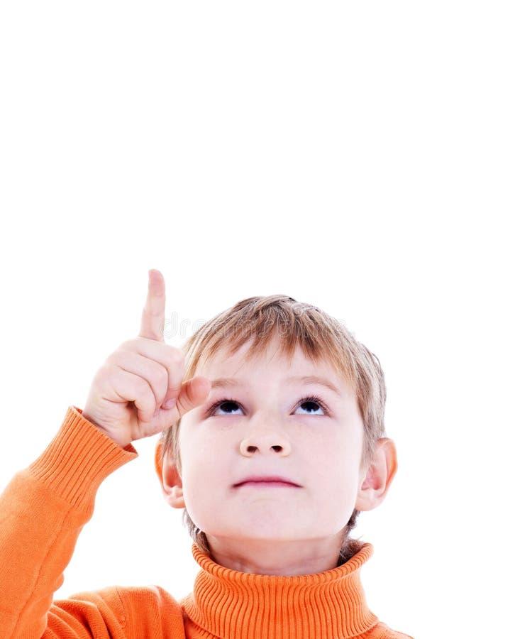 Demostraciones del muchacho imagen de archivo libre de regalías