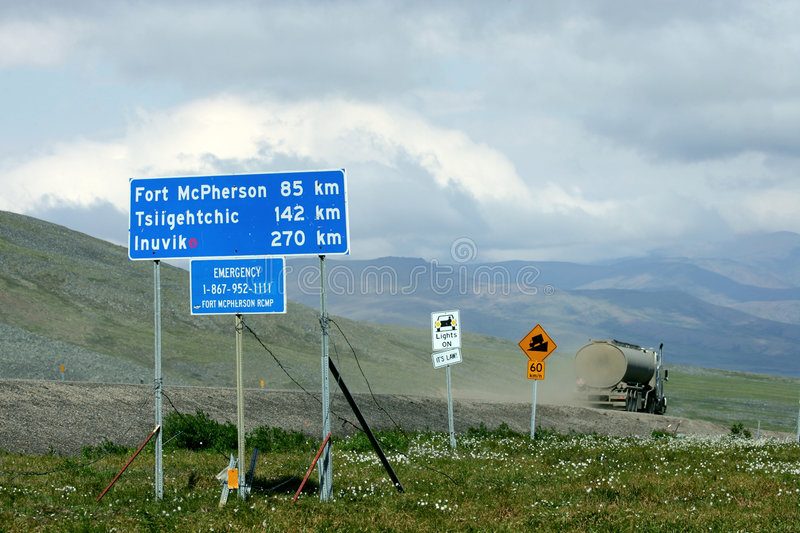 Dempster Highway Royalty Free Stock Photos