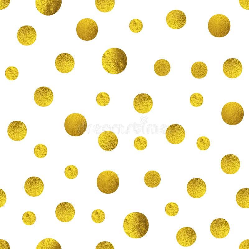 Den älskvärda modellen med guld- blänker sircle som isoleras på vit vektor illustrationer