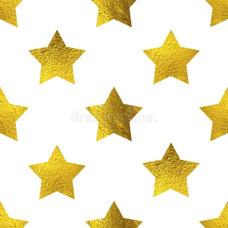 Den älskvärda modellen med guld- blänker stjärnor som isoleras på vit vektor illustrationer