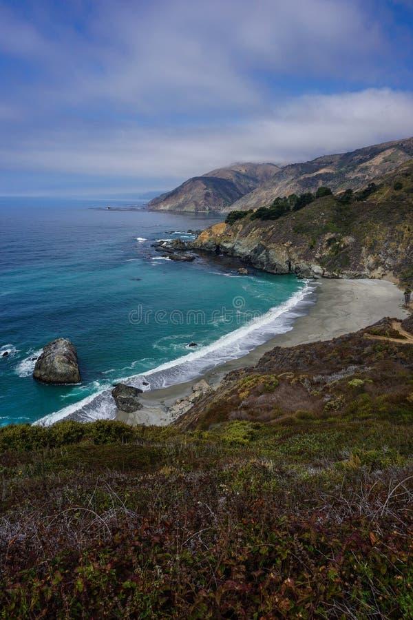 Den ökända Kalifornien USA rutten 101 royaltyfria bilder