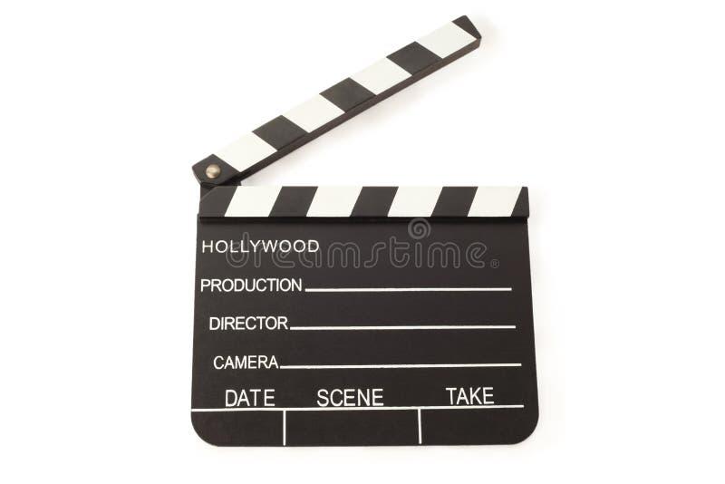 den öppna brädeclapperfilmen kritiserar arkivfoto