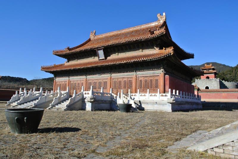 Den östliga Qing Tombs royaltyfri bild