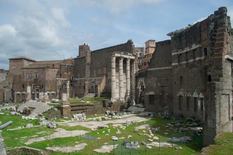 Den östliga Roman Forum royaltyfria foton