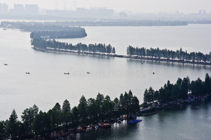 Den östliga sjön royaltyfria foton