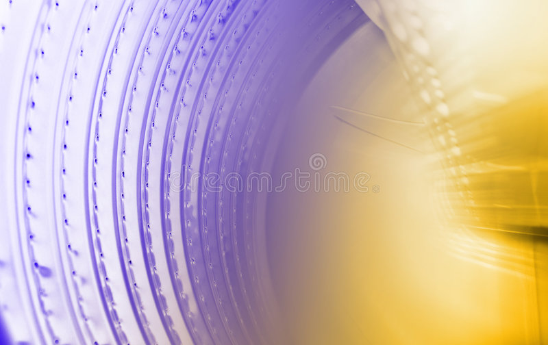 Den Abstrakt Datoren Förhöjde Fotoet Royaltyfria Bilder