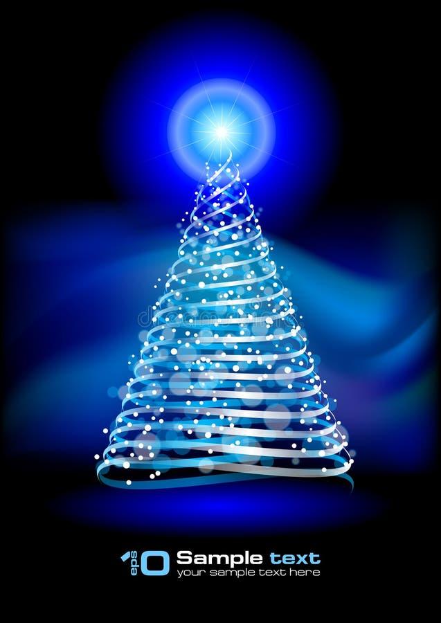 den abstrakt julen planlägger treevektorn vektor illustrationer