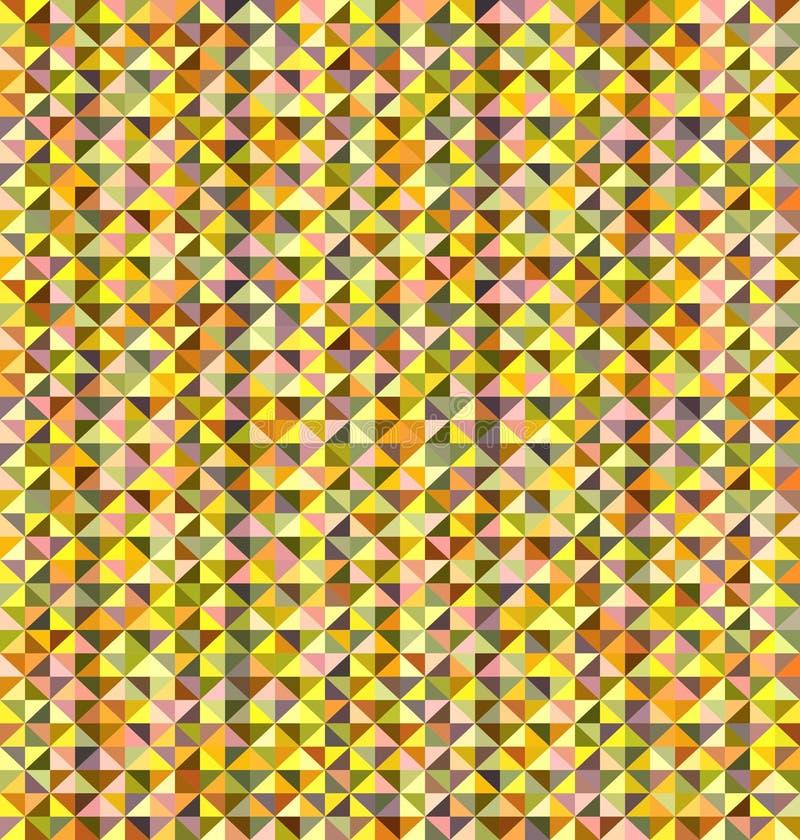 Den abstrakt triangeln mönstrar vektor illustrationer