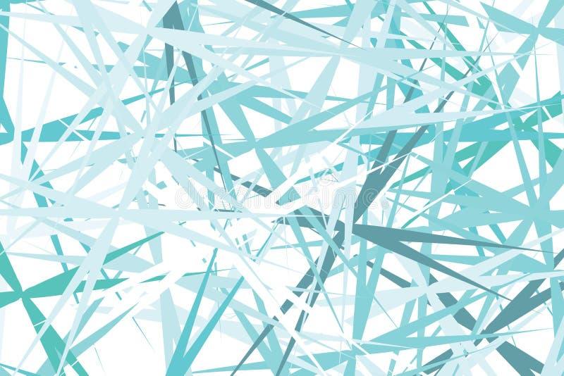 Den abstrakta blåa ljusa mjuka konstlinjen diagrammet för tygdesignbakgrund, tapetserar den färgrika ljusa konstlinjen stock illustrationer