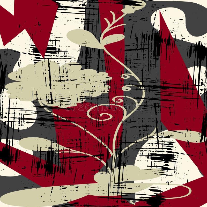 Den abstrakta färgmodellen i grafitti utformar den kvalitets- vektorillustrationen för din design vektor illustrationer