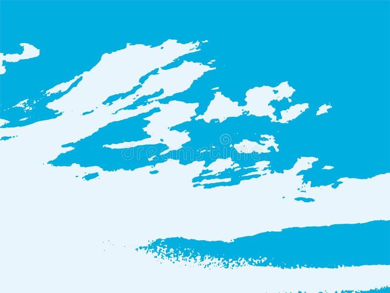 Den abstrakta molnvektorn texturerade bakgrund royaltyfri illustrationer