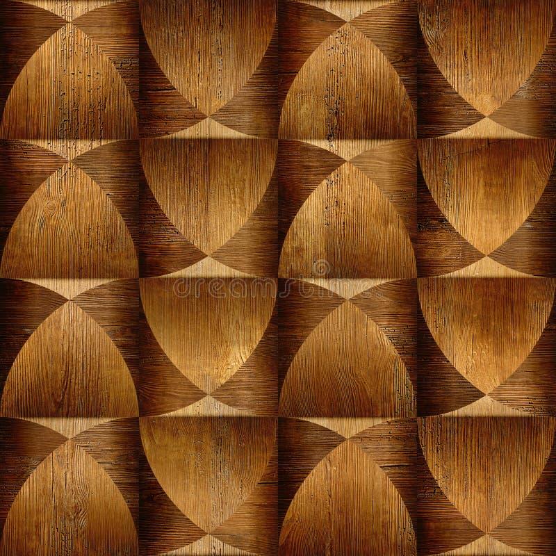 Den abstrakta panelmodellen - texturera modellen för fortlöpande replicate stock illustrationer
