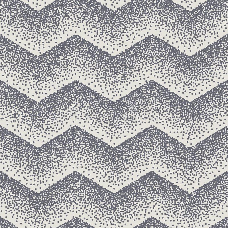 Den abstrakta sömlösa sparresicksacken punkterar prickar 10 eps vektor illustrationer