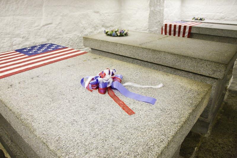Den Adams tomben   royaltyfri fotografi