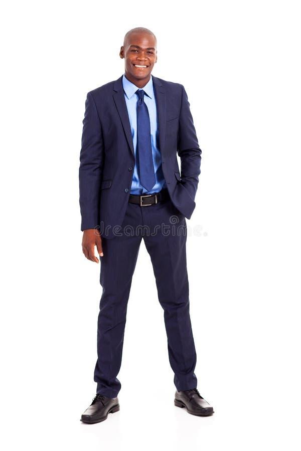 Den afrikanska affärsmannen passar royaltyfria bilder