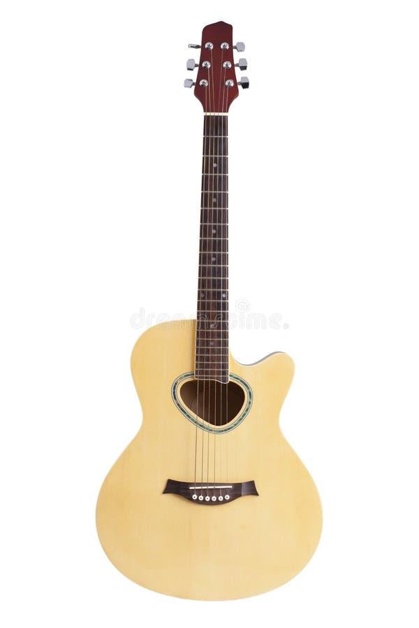 Den akustiska gitarren royaltyfri foto