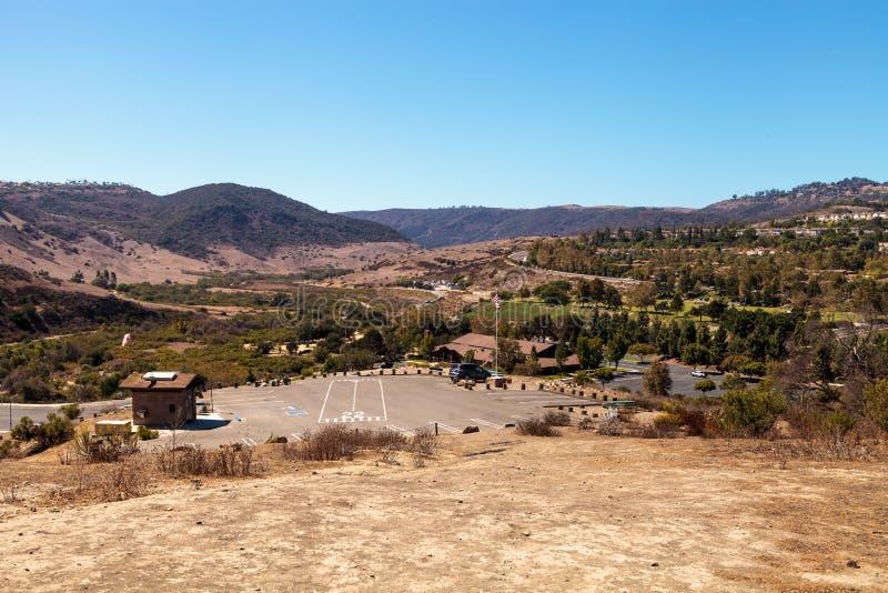 Den Aliso Viejo vildmarken parkerar arkivfoton