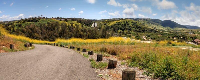 Den Aliso Viejo vildmarken parkerar sikt arkivbild