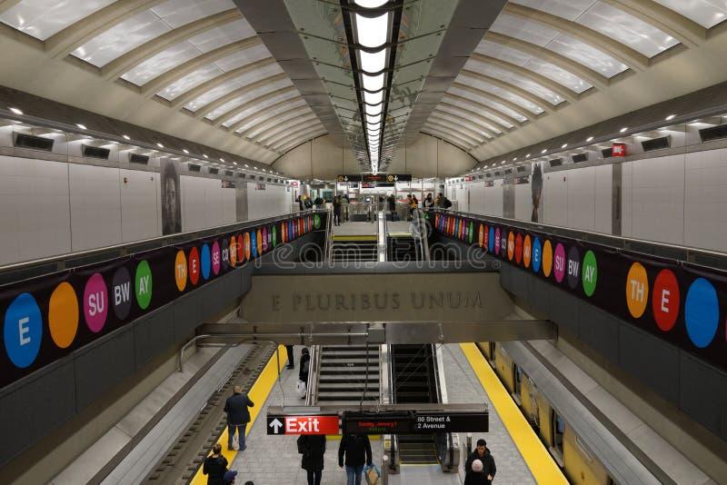 Den andra avenygångtunnelen 37 arkivbild