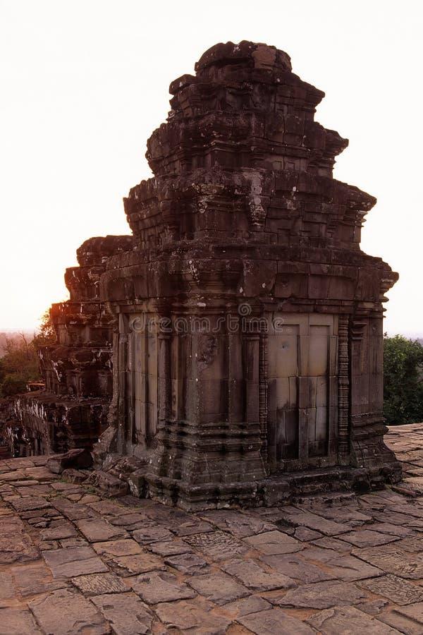 den angkorcambodia khmeren fördärvar wat arkivbild