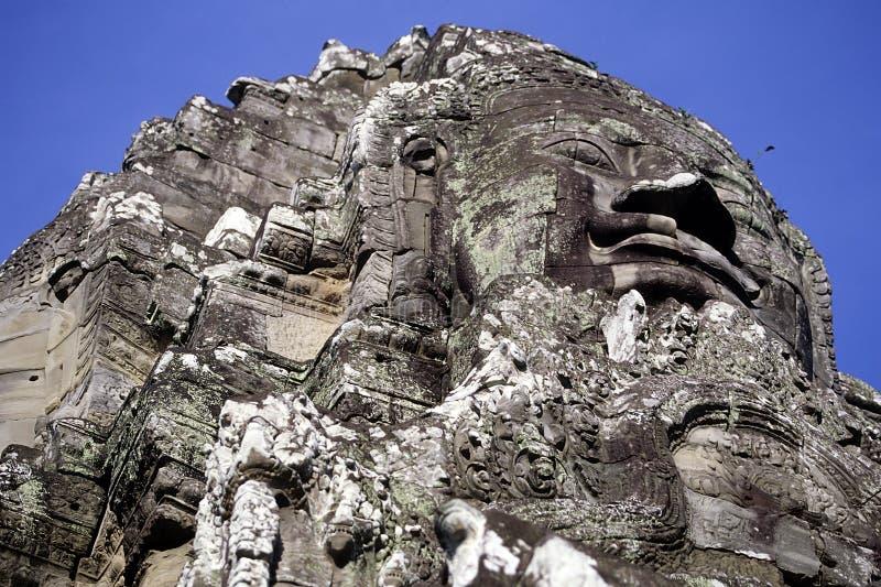 den angkorcambodia khmeren fördärvar wat royaltyfria foton