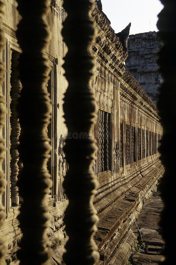 den angkorcambodia khmeren fördärvar wat arkivfoton