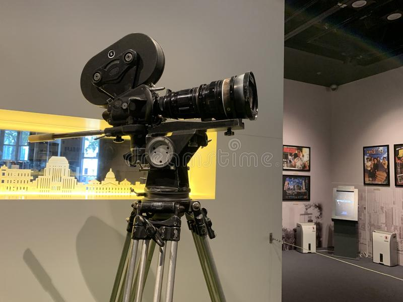 Den Arri IIC 35mm kameran i 60-tal arkivbilder