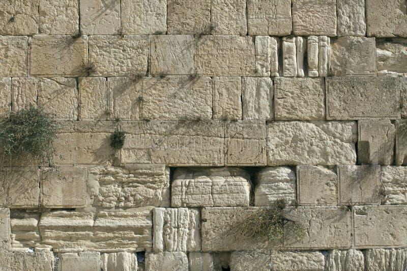 Den att jämra sig väggen, Jerusalem, Israel arkivbild