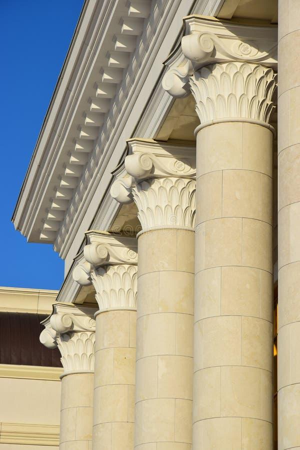 Den bästa delen av några kolonner royaltyfria foton