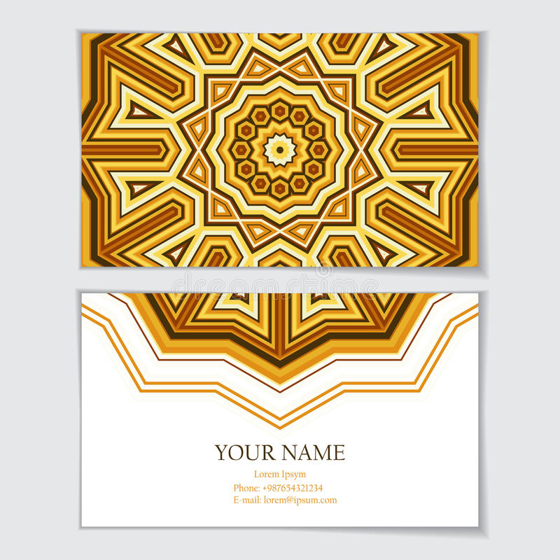 den bästa originalen för affärskortet skrivar ut den klara mallvektorn royaltyfri illustrationer