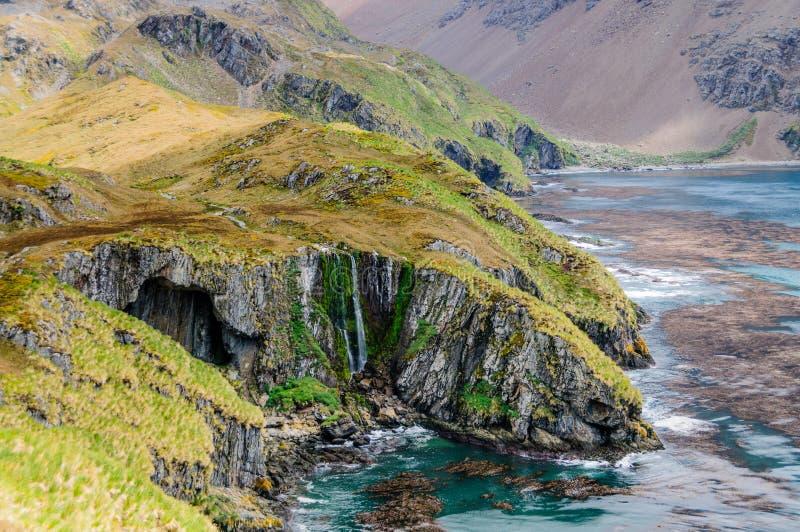 Den bedöva skönheten av de Godthul landskapen royaltyfria bilder