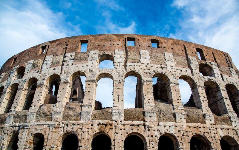Den berömda coliseumen i Rome, Italien Europa arkivfoton