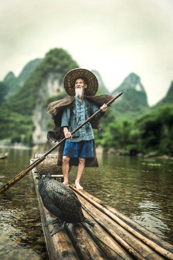 Den berömda fiskaren royaltyfri fotografi