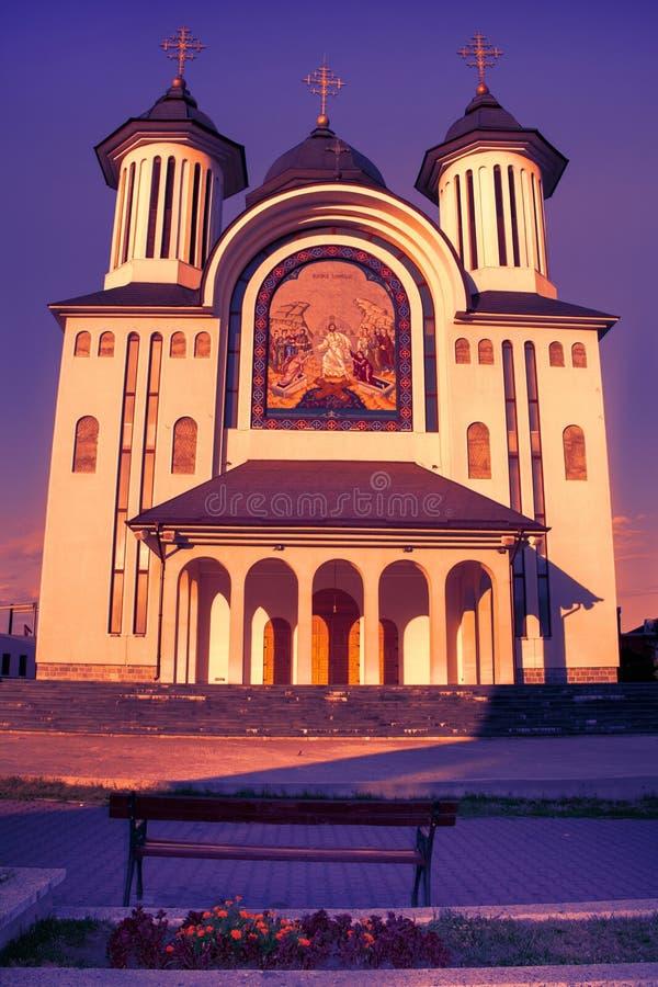 Den biskops- domkyrkan av den Drobeta Turnu Severin staden