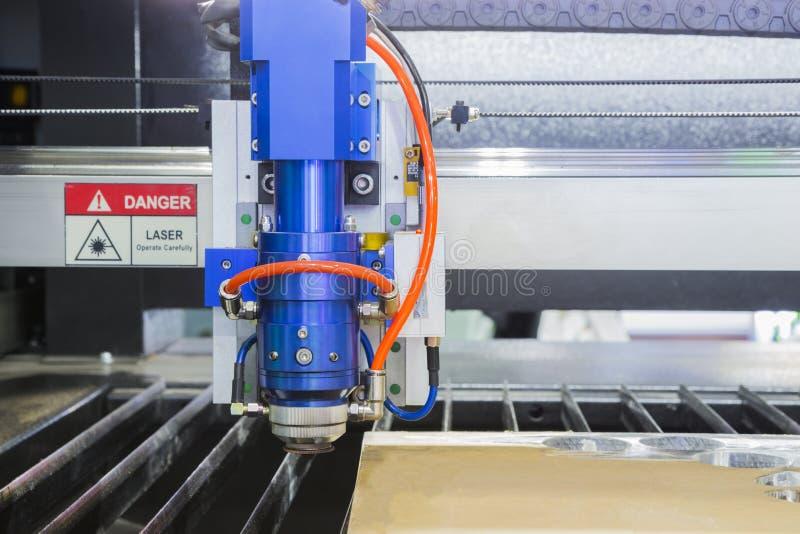 Den bitande maskinen för laser royaltyfri foto