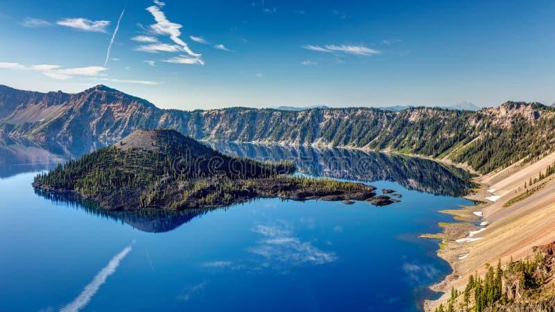 Den blåa juveln av Oregon arkivbilder