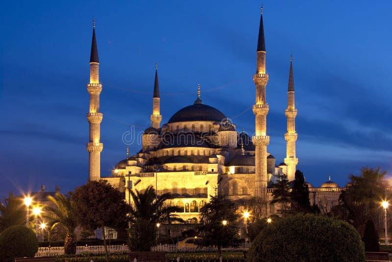 Den blåa moskén - Istanbul royaltyfri fotografi