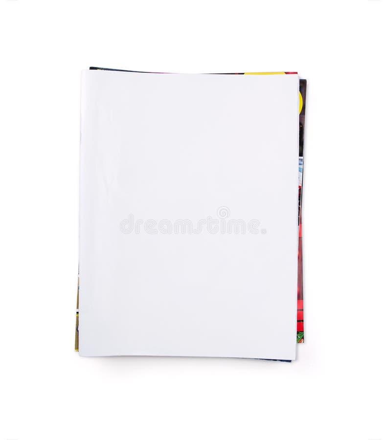 den blanka clippingen journals banabunten arkivfoto