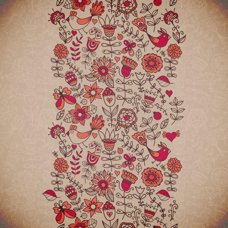 den blom- bakgrundsdesignen använder idealt den din vektorn Retro bakgrund för tappning med blom- nolla vektor illustrationer