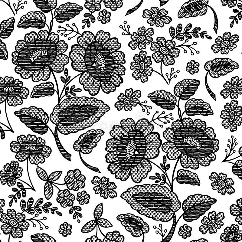 den blom- blomman snör åt vektor illustrationer